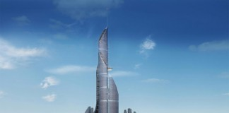 The skyscraper is planned in a size of 1,152 m.