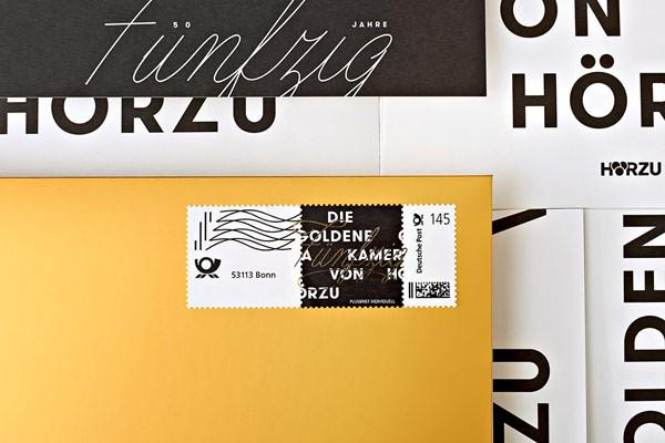A closer look at the branding materials.