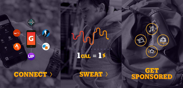Connect, sweat, and get sponsored.