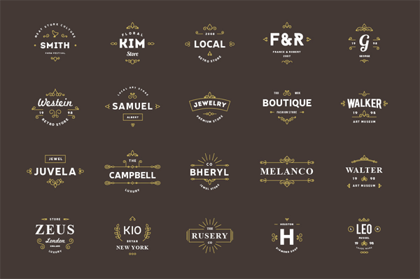 665 Logo Templates for Professional Use