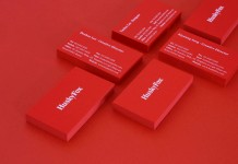 The HuskyFox business cards.