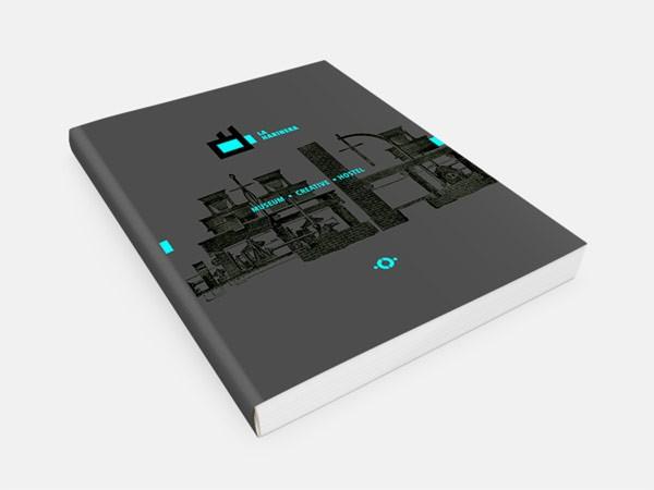 The book cover design.