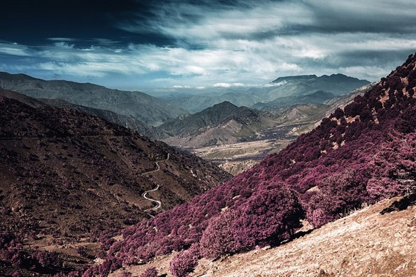 A photo taken in the Atlas mountains of North Afraica.