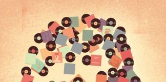 Back to Vinyl - Artwork created for The Boston Globe.