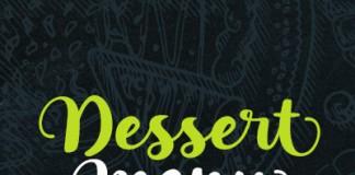 Dessert Menu, a brush font duo created by Elena Genova of My Creative Land.