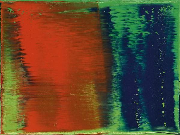 Gerhard Richter (born in Dresden in 1932) Grün-Blau-Rot, 1993