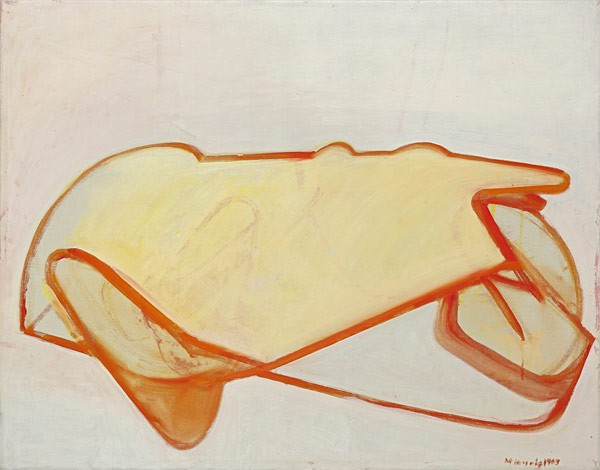 Maria Lassnig (Kappel, Carinthia 1919 - 2014 Vienna) Selbstporträt als Auto, 1963