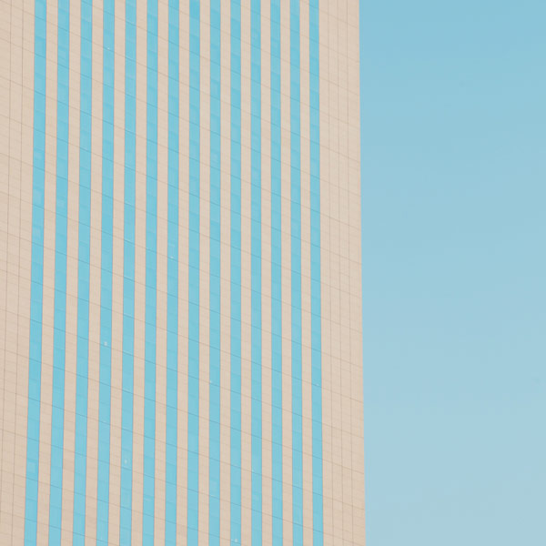 Minimalist photography in an urban environment.