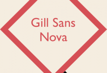 The Gill Sans Nova type family from Monotype Studio.