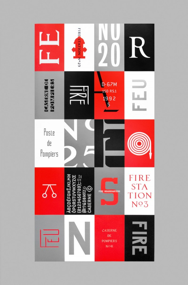 Calendar For Typography Nerds : Calendar design by caserne