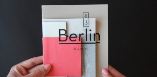 Fragments d'un voyage, a photo booklet about Berlin by French graphic design student Camille Palandjian.