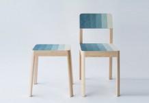 The Decresc series by Japanese industrial, product, and furniture designer Kazuya Koike.