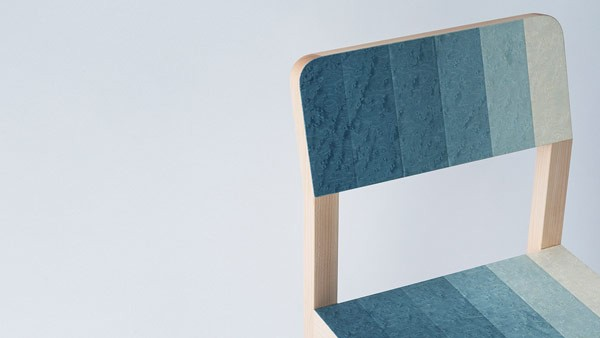 A detailed view of the chair design.