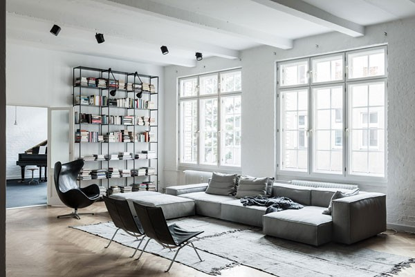 loft apartment and studio design in berlin germany home interior