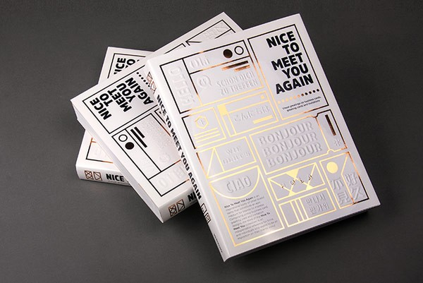 Nice to Meet You Again is a great book for graphic designers working in the print industry.