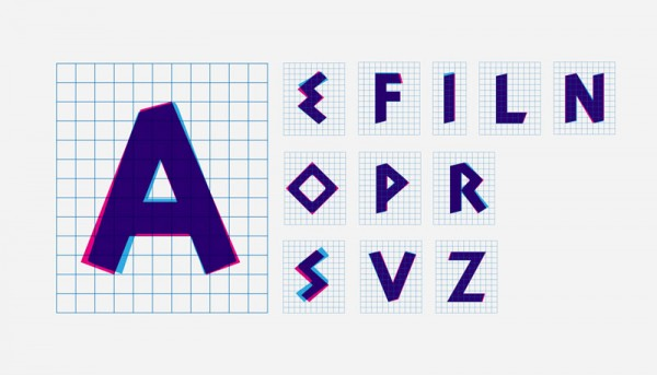 Agency Bratus also designed a custom typeface.