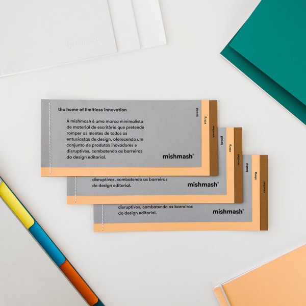 The Matosinhos, Portugal based creative studio designed a wide range of printed collateral and office supplies.