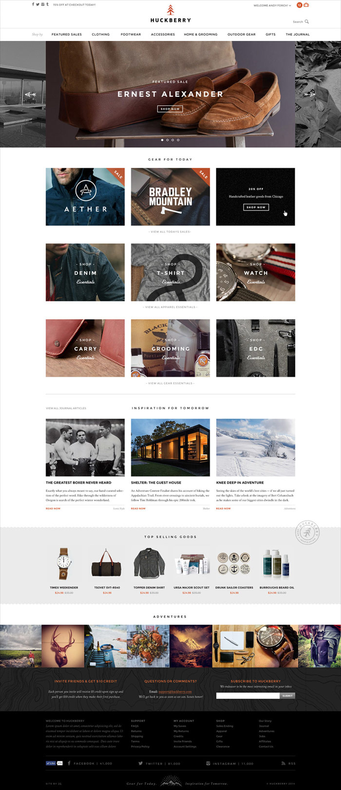 The new website with integrated online shop was a big part of the project.