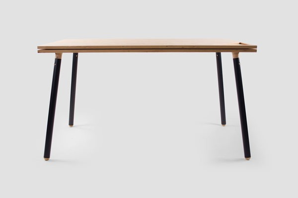 The Tenderete work desk by Adolfo Navarro and Joshua Allen Canales.