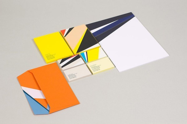 A striking corporate identity created by Build for Studio Aves.