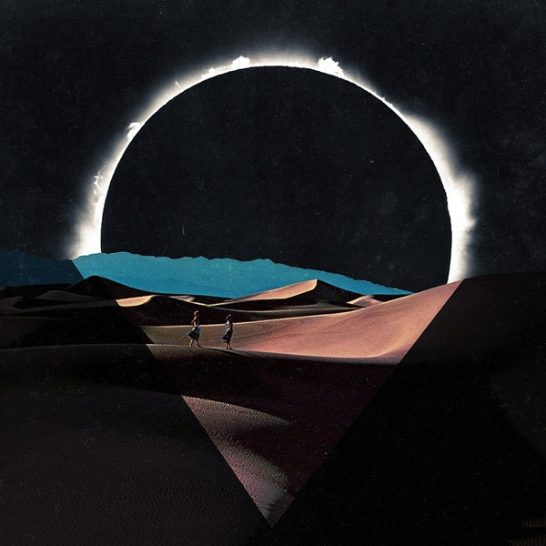 Inverse Shade of the Eclipse, a surreal collage by Felipe Posada.
