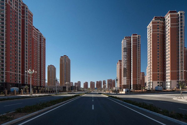 Ordos, a failed utopia in Inner Mongolia, China.
