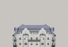 First image of the minimalist photo series Urban Symmetry by Zsolt Hlinka.