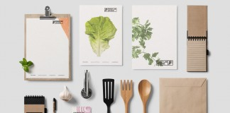 Food Lab Studio identity design by LANGE & LANGE.