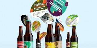 Kent Brewery beer labels redesign by Jan Baca.