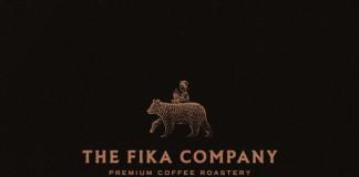 Logo design by Joe White for the Fika Company, a premium coffee roastery.
