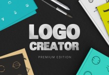 The Logo Creator premuim edition from DesignDistrict.