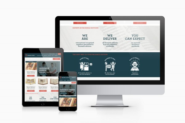 Zeichen & Wunder has also created a responsive website for the German family business.