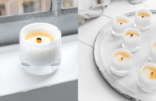 Message candles branding by studio for brands for Different brands of candles