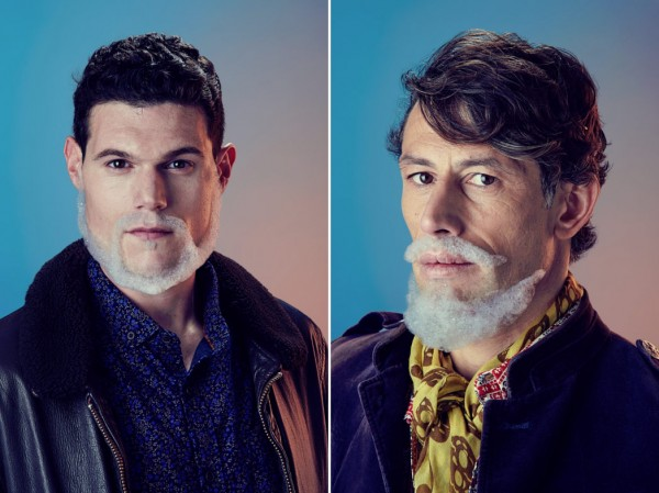 Bubbleissimo, a portrait project focusing on modern men and their grooming obsession to facial hair.