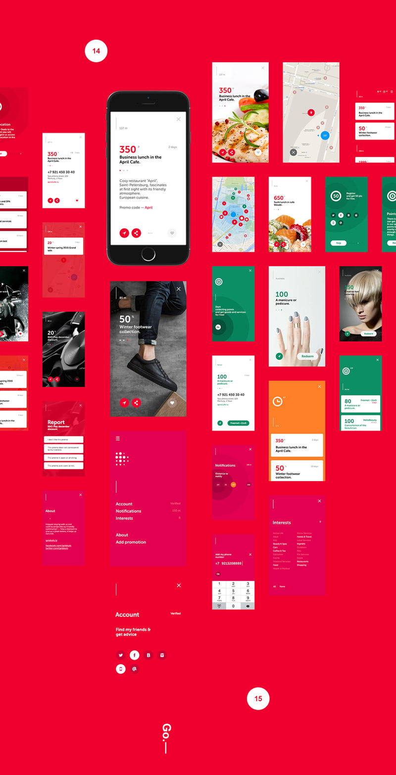 Deals App – UI/UX Design by m—2—h