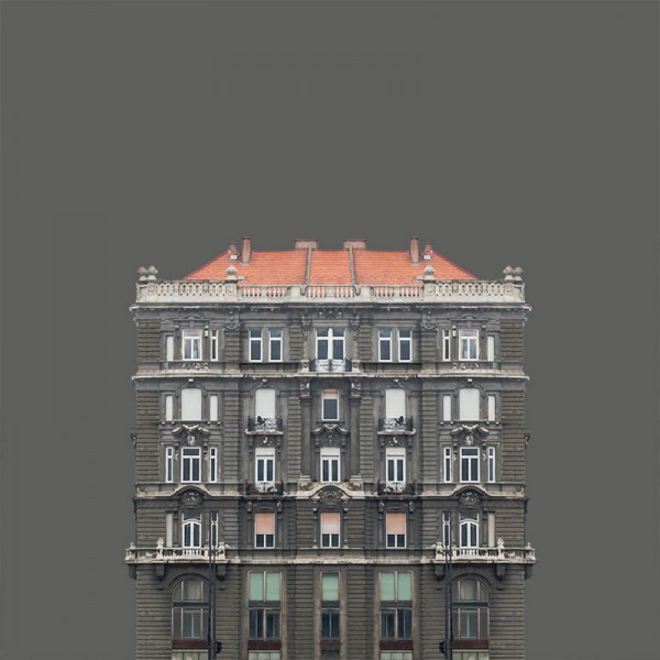 The Hungarian photographer has reduced each image to the essentials in order to give full focus on the respective building.