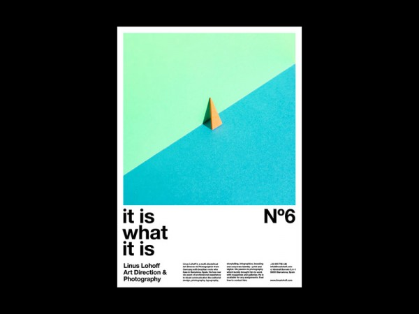 Work from a poster series, which is based on playfulness and a subtle aesthetic.