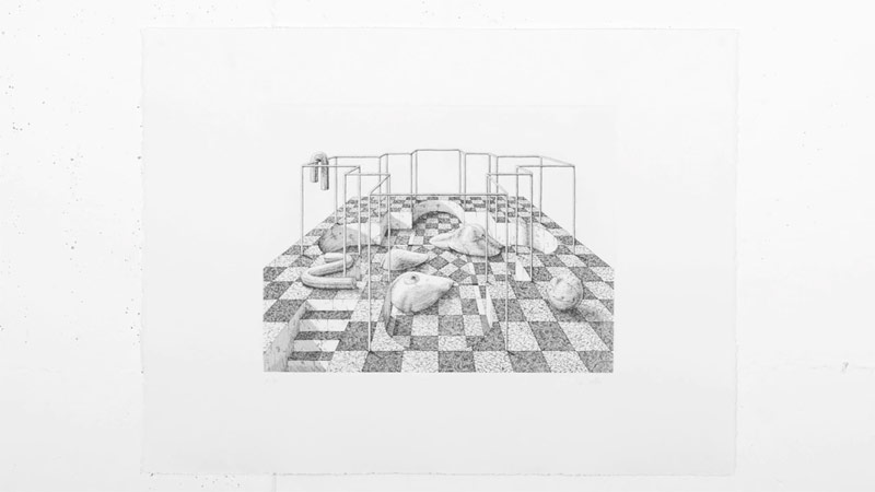 The final etching masterpiece 'Sybille's Bath' by Ugo Gattoni is available exclusively on: soldart.com