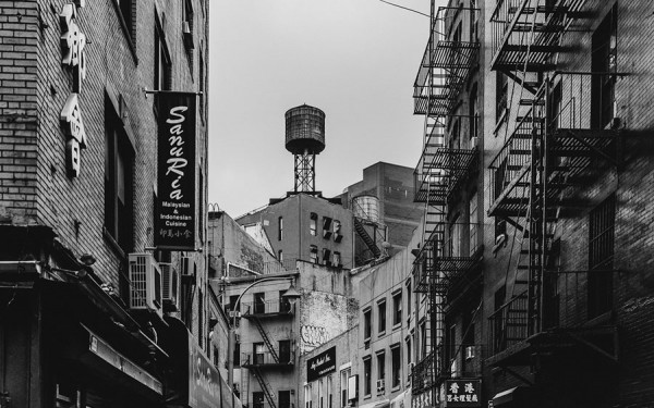 Photographer Laurent Nivalle has also captured the old but charming parts of New York City.