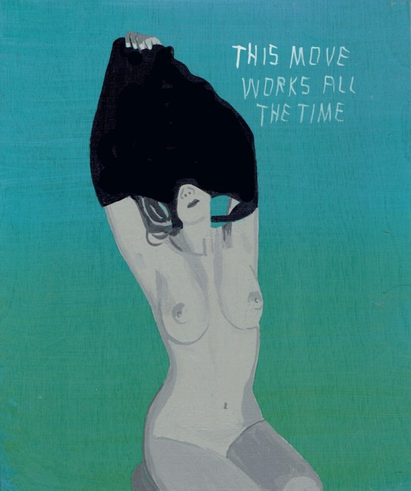This move works all the time. Sexy painting by Javier Mayoral.