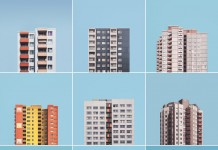 """""""Stacked"""" is a photo project by Malte Brandenburg about the large post-war housing estates in Berlin."""