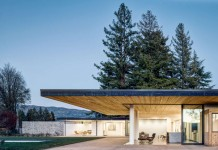A flat home by Jørgensen Design at Oak Knoll District of Napa Valley AVA.