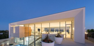 A luxury Hamptons home in East Quogue, NY.
