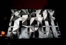 'Axioma' is a spectacular 3D stereoscopic mapping created by the multidisciplinary studio Onionlab.