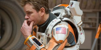 "Matt Damon in ""The Martian""."