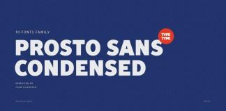 TT Prosto Sans Condensed, the condensed version of the Prosto Sans font family.