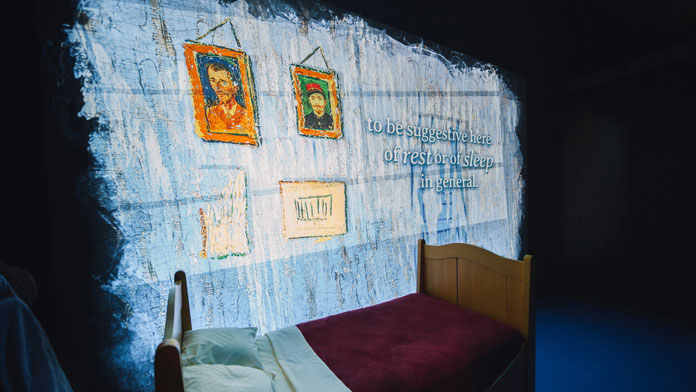 Take a virtual tour through Van Gogh's Bedrooms at the Art Institute of Chicago.