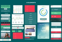 The Savvy UI Kit with more than 70 user interface templates.