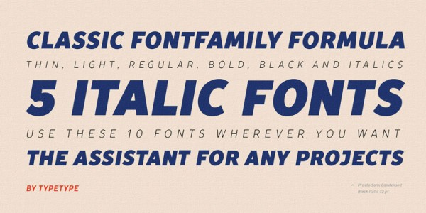 Some type samples of this beautiful condensed typeface.