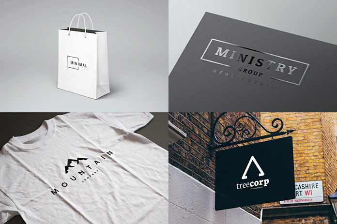 This amazing set includes over 200 minimal logos for Adobe Illustrator and Photoshop.